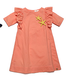 MilkTeeth Seabird Dress - Peach