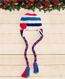 D'chica The Adorable Pigtails Cap - Multicolor