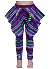 Little Kangaroos - Leggings With Stripes