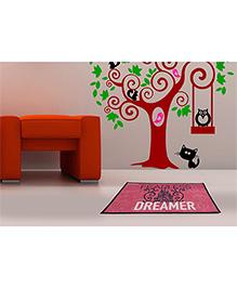 Spaces Disney Princess Cotton Bath Mat Dreamer Print - Pink