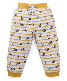 Mini Taurus Full Length Track Pants - Mustard