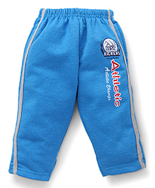Cucumber Track Pant Athletic Print - Blue