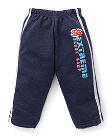 Cucumber Track Pant Extreme Scout Camp Print - Navy Blue