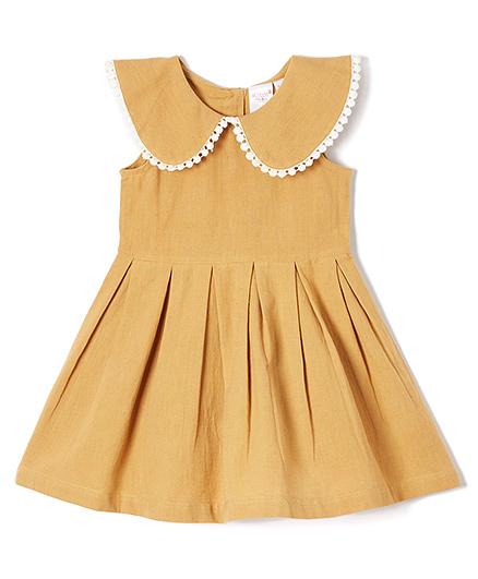 Yo Baby Elegant Pleated Dress - Musard