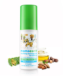 Mama Earth Soothing Massage Oil For Babies - 100 Ml