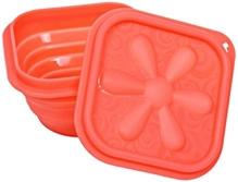 Fab N Funky Folding Lunch Box - Pink