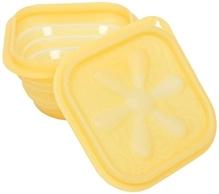 Fab N Funky Folding Lunch Box - Yellow