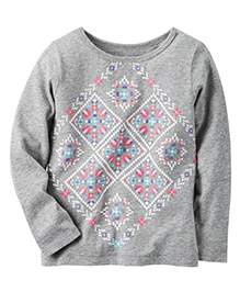 Carter's Snowflakes Top
