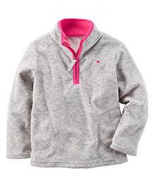 Carter's Full Sleeves Sweat Jacket - Grey