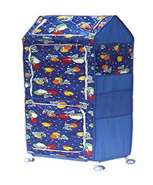 Amardeep Multipurpose Toy Box - Blue - 1236654