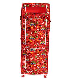 Amardeep Multipurpose Toy Box - Red - 1236657