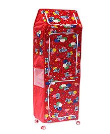 Amardeep Multipurpose Toy Box - Red - 1236663