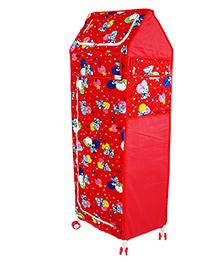 Amardeep Multipurpose Toy Box - Red - 1236670