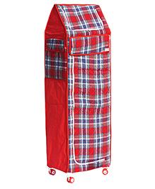 Amardeep Multipurpose Toy Box - Red - 1236672