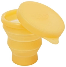 Fab & Funky - Round Shape Folding Cup With Cap