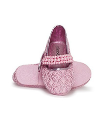 Pikaboo Essentials Pearly Mary Jane Shoes -  Baby Pink