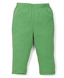 ToffyHouse Full Length Plain Leggings - Green