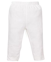 ToffyHouse Full Length Plain Leggings - Off White