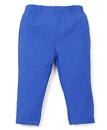 ToffyHouse Full Length Plain Leggings - Royal Blue