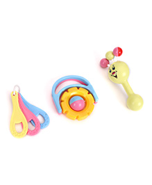 Morisons Baby Dreams Classic Rattle Gift Box - 3 Pieces