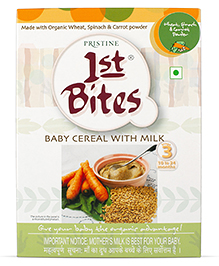 Pristine 1st Bites Wheat And  Mixed Vegetables - 300 Grams
