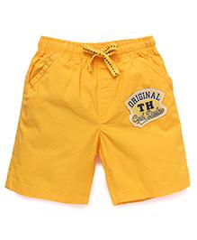 ToffyHouse Shorts - Golden Yellow