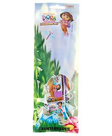 Sticker Bazaar Dora The Explorer Stationery Set - 5 Pieces