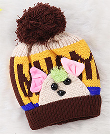 Superfie Cute Mouse Cap For Kids - Brown