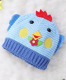 Superfie Cute Chick Cap For Kids - Blue