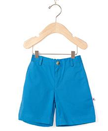 Coo Coo Poplin Shorts - Blue