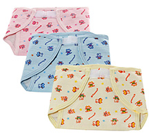 Tinycare MultiprintedBaby Nappy Extra Large - Set Of 3