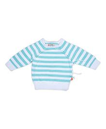 FS Mini Klub Full Sleeves Stripes Sweater - Aqua