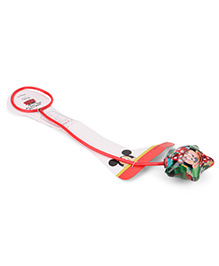 Disney Mickey Foot Hula Hoop Red - 71 Cm