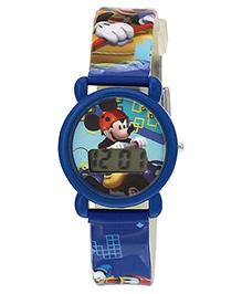 Disney Mickey Mouse Digital Watch DW100232 - Blue