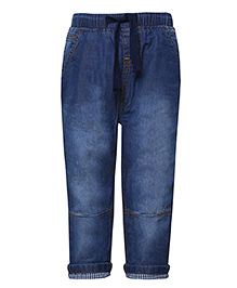 Tales & Stories Full Length Jogger Jeans - Dark Blue