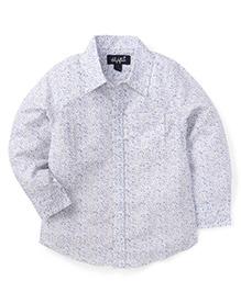 Highflier Printed Shirt - White