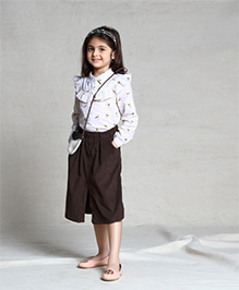 Cubmarks Corduroy Culottes - Brown