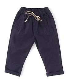 Cubmarks Long Draw String Pants - Blue
