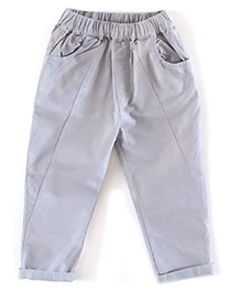 Cubmarks Long Pants With Elasticated Waist - Grey