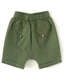 Cubmarks Cotton Shorts - Green