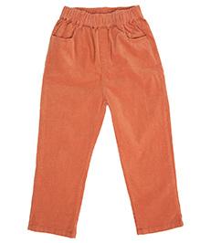 Cubmarks Long Corduroy Pants - Orange