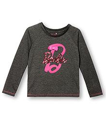 Barbie Long Sleeves T-Shirt - Grey
