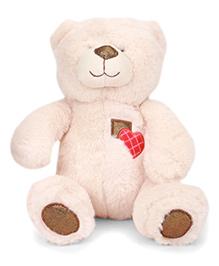 Starwalk Plush Teddy Bear Soft Toy Cream - 26 Cm
