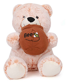 Starwalk Plush Teddy Bear Soft Toy Light Orange - 25 Cm