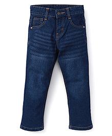 Babyhug Full Length Jeans - Light Blue