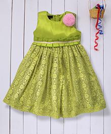 Pspeaches Beautiful Lace Dress - Green