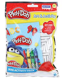Play Doh Mini Coloring Activity Set - Multi Color