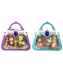 Disney Sofia The First Doll With Storytelling Set - Doll Height 7 Cm