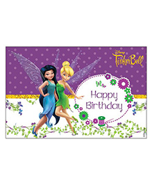 Disney Fairies Tinkerbell Table Mats Pack Of 6 - Purple White