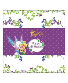 Disney Fairies Tinkerbell Chocolate Wrappers Pack Of 10 - Purple White